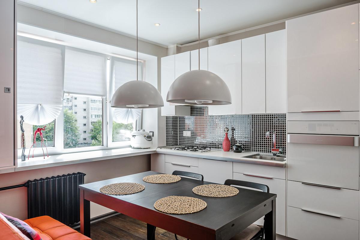 Квартира 42 метра с большой кухней и кабинетом на лоджии - r.