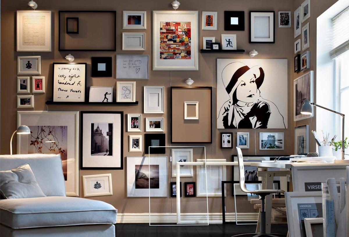 20 простых и эффектных идей декора стен
