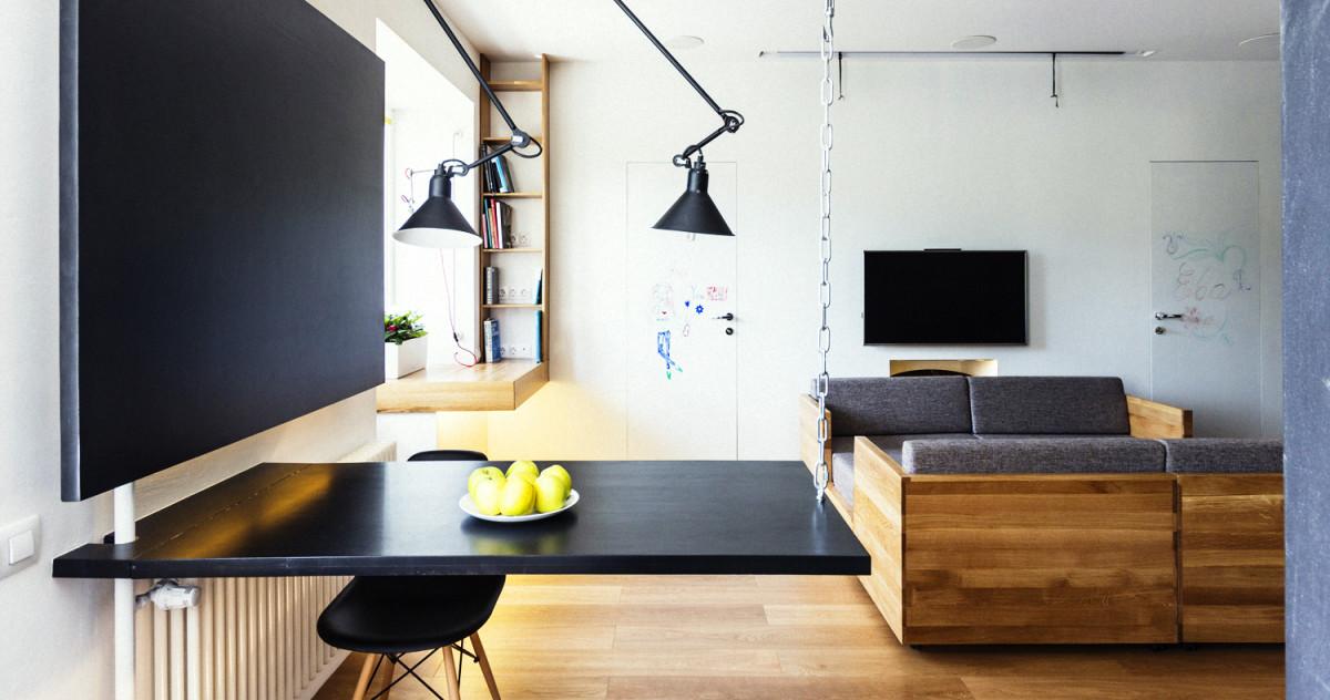 Как обустроить квартиру максимально комфортно и просторно: московская «сталинка»