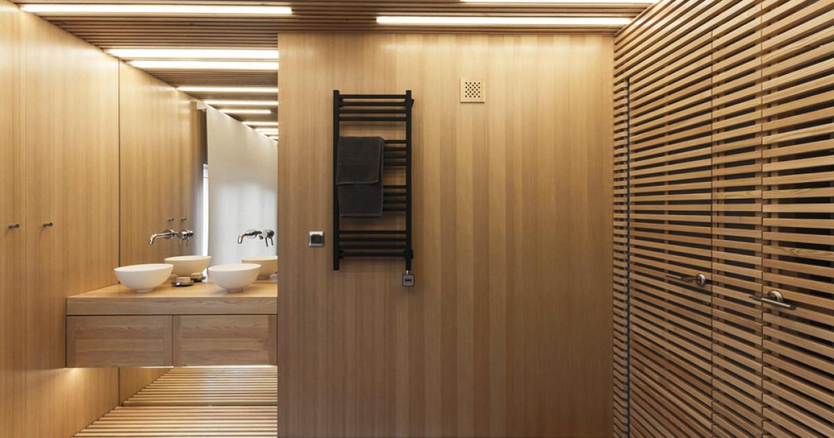 Ванная комната для релакса, чтения и танцев: сделано в России