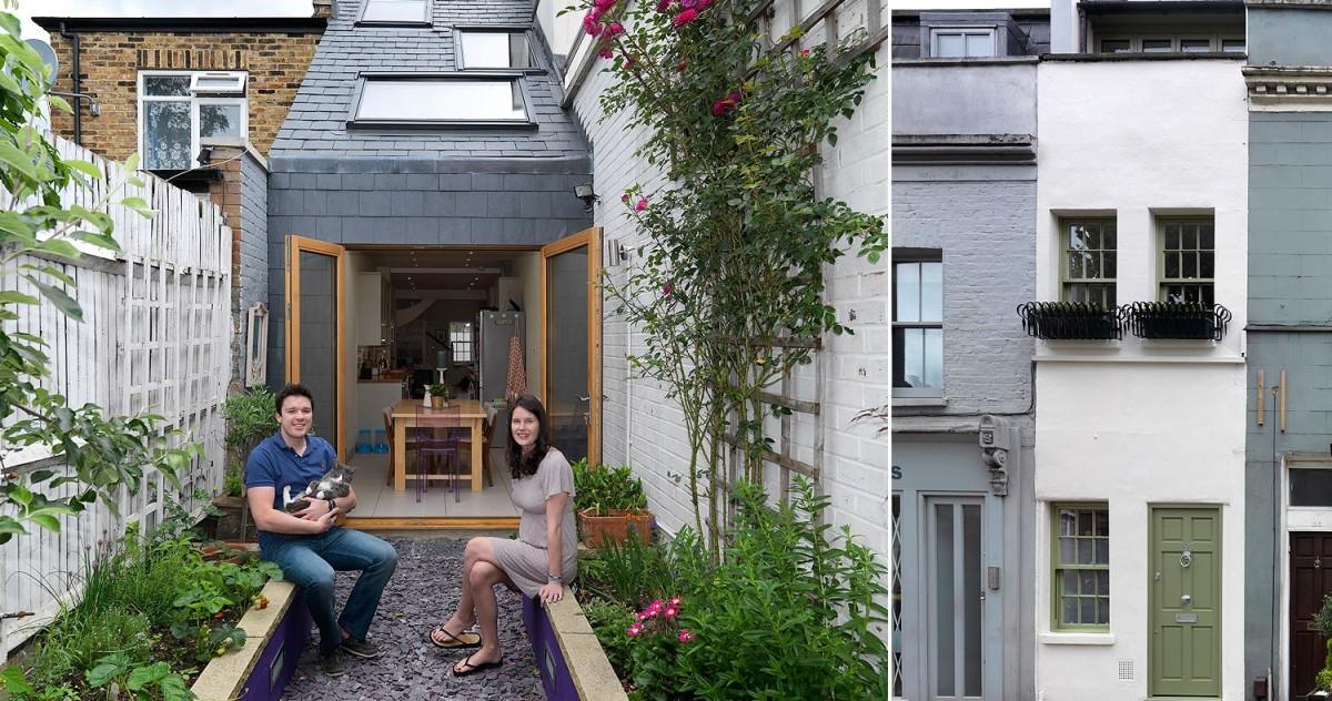 Самые маленькие дома Англии: 3 примера функционального планирования небольшой площади