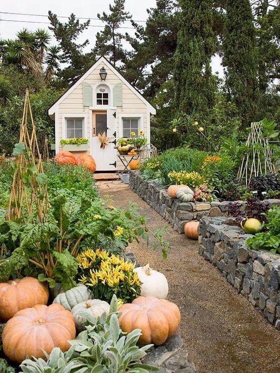 Сад и участок в  цветах:   Бежевый, Коричневый, Серый, Темно-зеленый.  Сад и участок в  .