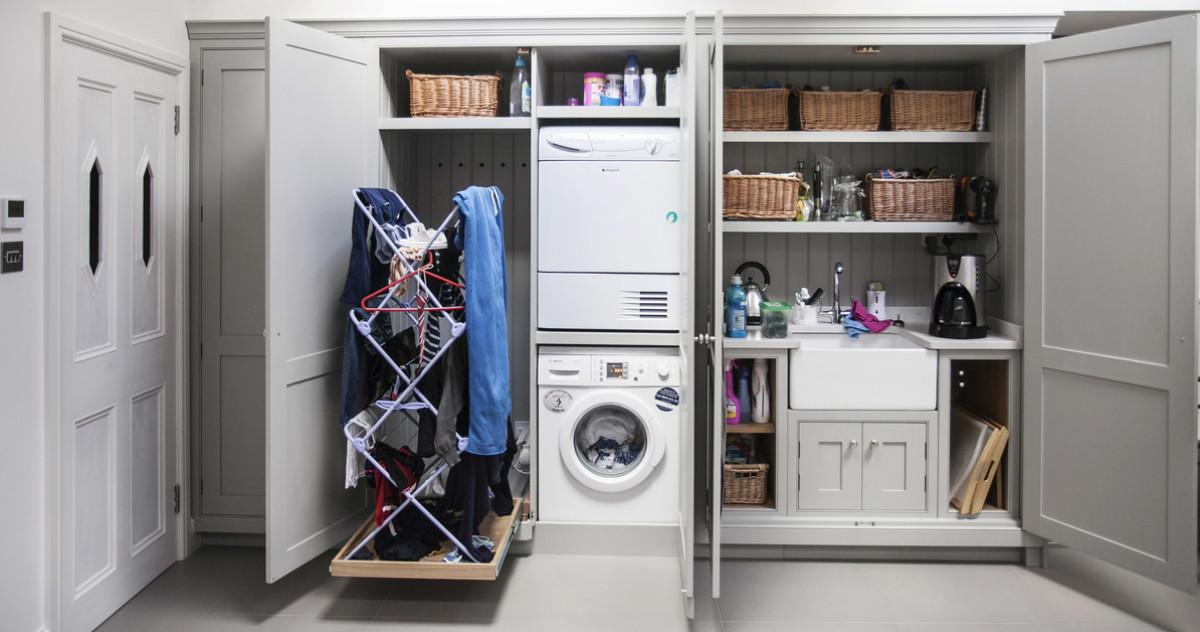 Где расположить стиральную машину: неожиданные российские примеры