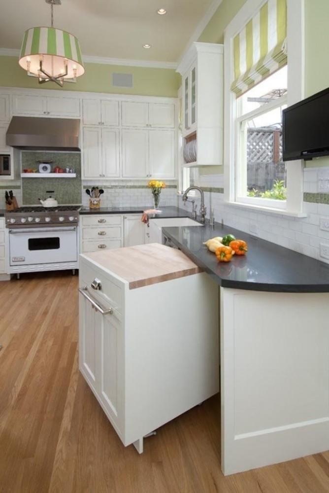 Кухня/столовая в  цветах:   Бежевый, Коричневый, Светло-серый, Серый.  Кухня/столовая в  стиле:   Скандинавский.