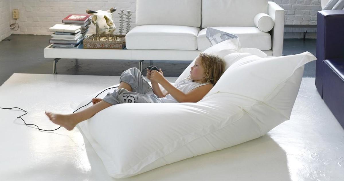 Кресло-мешок вместо дивана и другой мягкой мебели