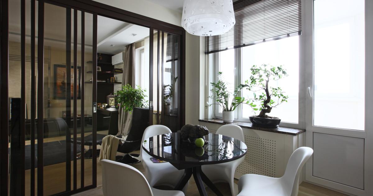 Монолитная квартира в шоколадных тонах: 70 метров чистого стиля