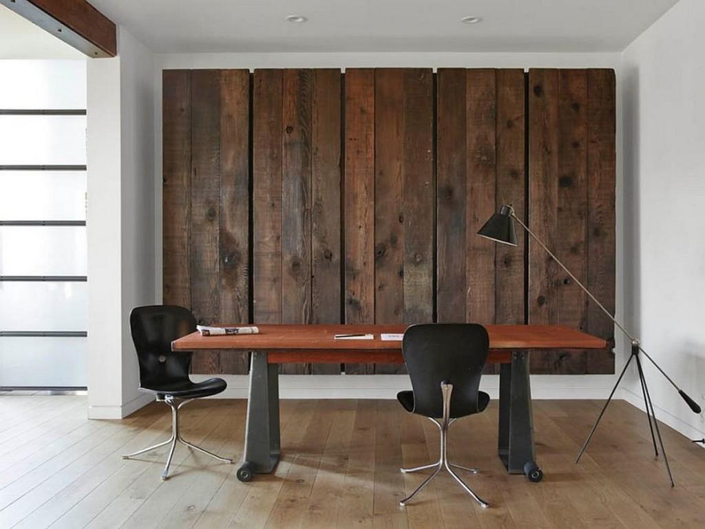 5 способов применения деревянных панелей в интерьере