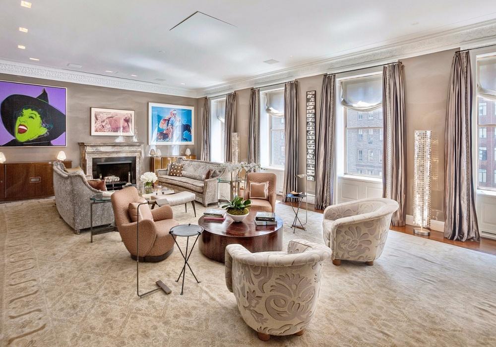 5 самых дорогих апартаментов Нью-Йорка, выставленных на продажу
