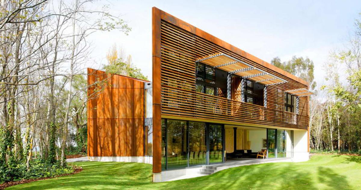 10 самых красивых деревянных домов — 2015