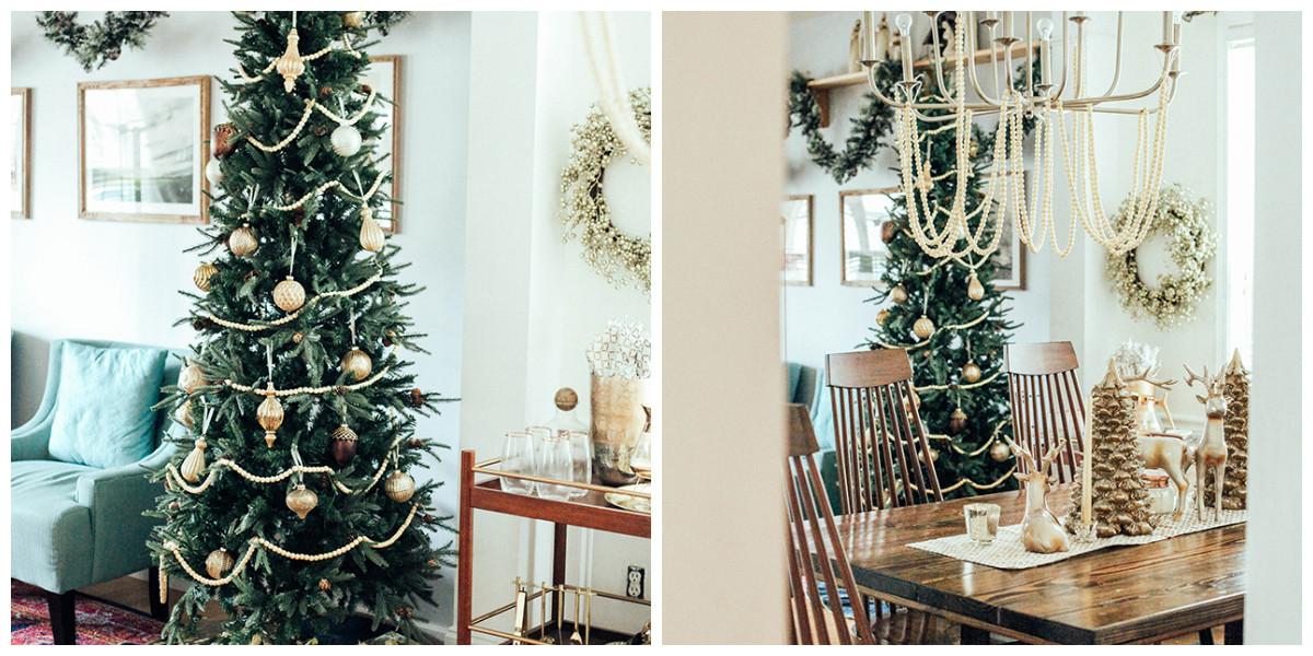 Как можно празднично декорировать обычную квартиру: реальный пример