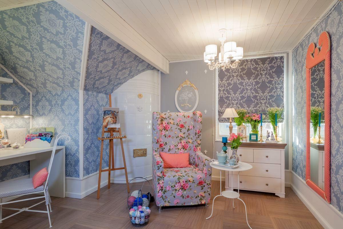 Мебель и предметы интерьера в цветах: голубой, бежевый. Мебель и предметы интерьера в стиле французские стили.