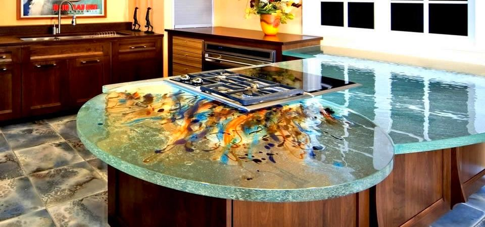 glass tables for the kitchen