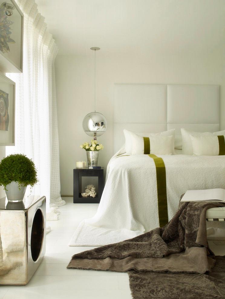 Мебель и предметы интерьера в цветах: серый, светло-серый, белый, темно-зеленый. Мебель и предметы интерьера в стиле минимализм.