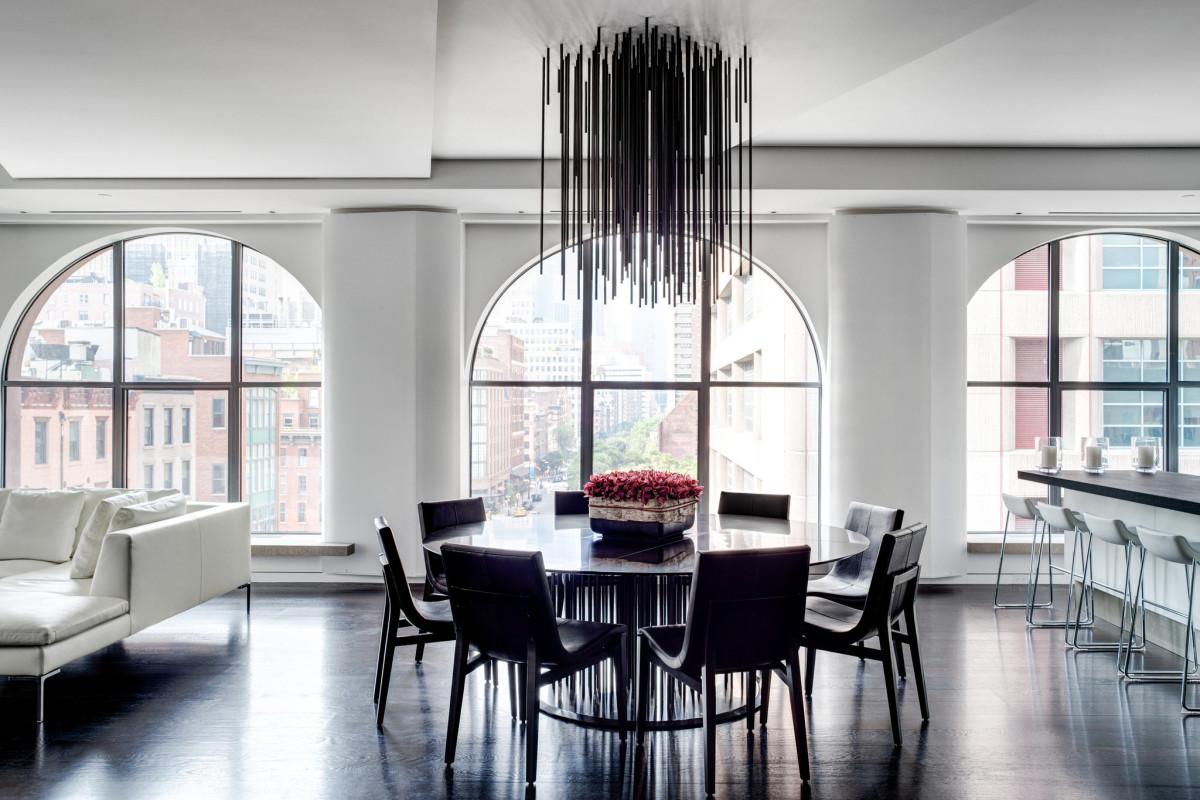 Роскошная квартира в центре Нью-Йорка