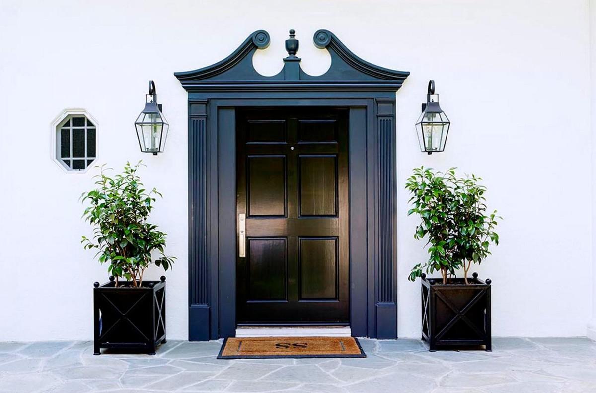 Декор в цветах: бирюзовый, черный, серый, светло-серый. Декор в стилях: классика.
