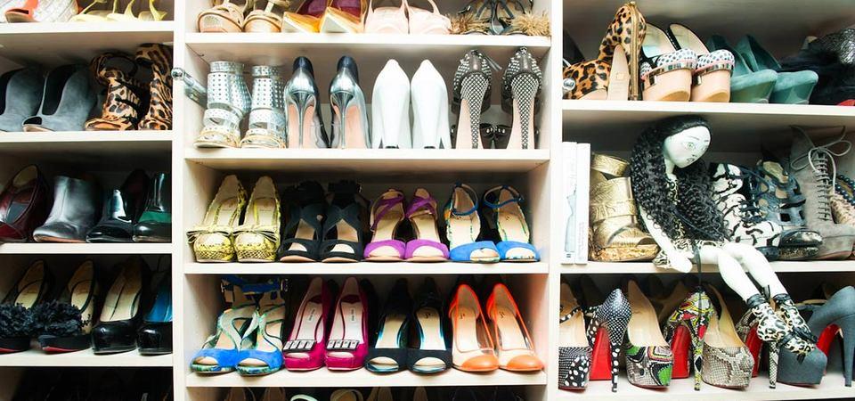 Женское счастье: гардеробная для обуви, купленная в ИКЕА