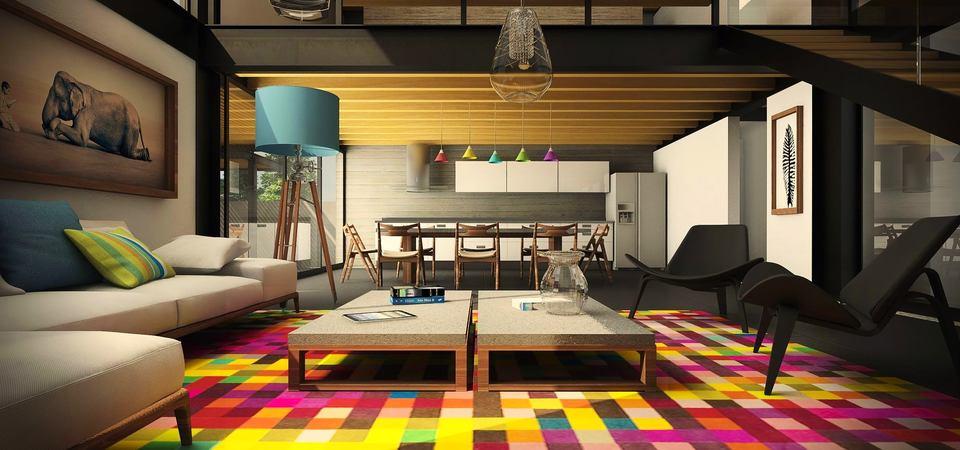 5 главных схем по обустройству гостиной