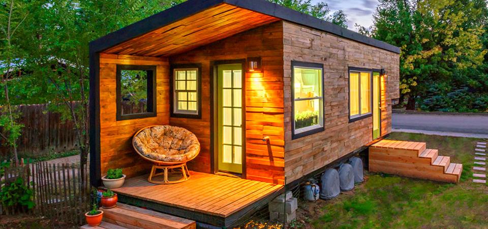 Что построить на 6 сотках: 15 самых маленьких деревянных домиков