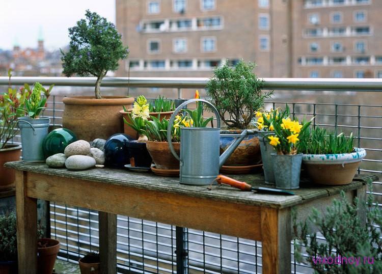 Балкон, веранда, патио в цветах: черный, серый, светло-серый, коричневый. Балкон, веранда, патио в стиле экологический стиль.