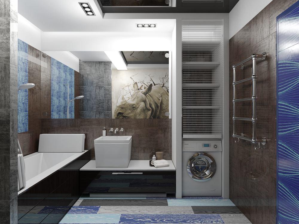 Мебель и предметы интерьера в цветах: фиолетовый, серый, светло-серый, белый, темно-коричневый. Мебель и предметы интерьера в стиле эклектика.
