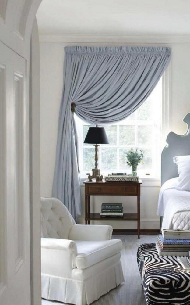 Спальня в цветах: черный, серый, светло-серый, белый, темно-коричневый. Спальня в .