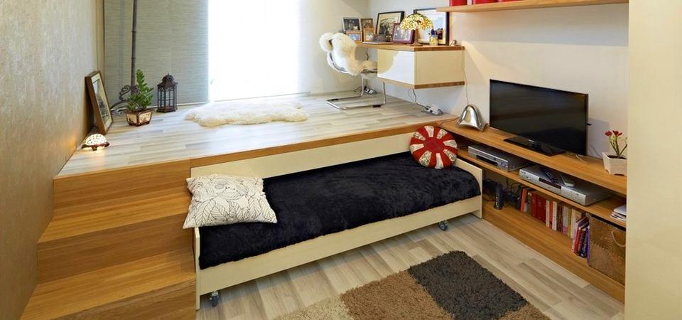 Откидные кровати-трансформеры: варианты и 212