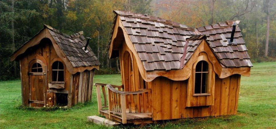 Как оформить игровой домик: 52 примера и множество идей