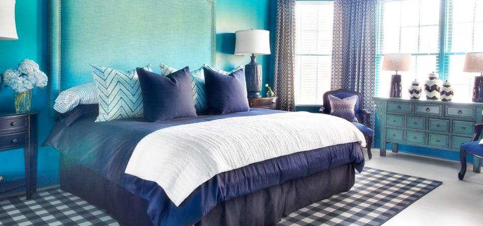 22 самые удачные цветовые схемы интерьера спальни