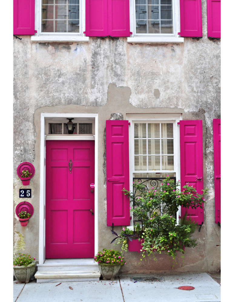 Архитектура в цветах: серый, светло-серый, бордовый, розовый. Архитектура в .
