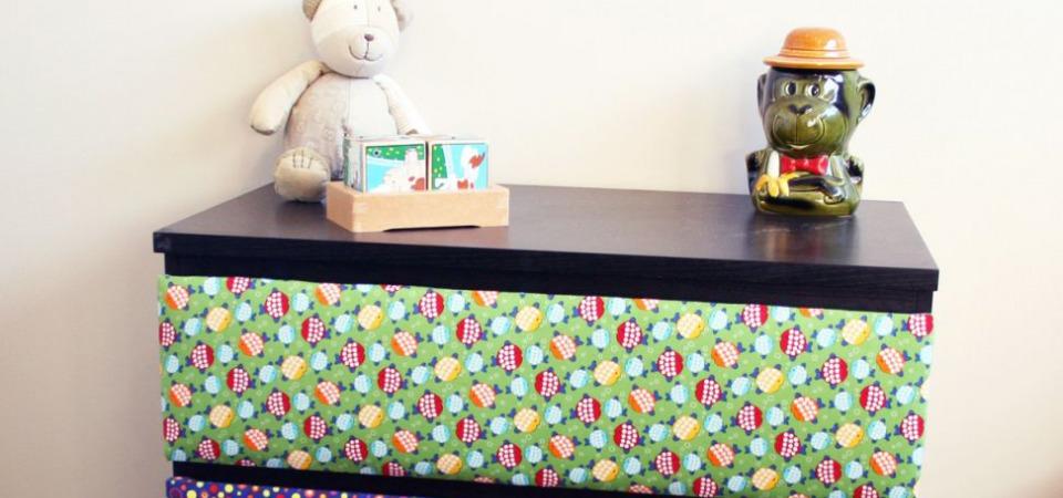 Веселый интерьер: декорируем детский комод своими руками