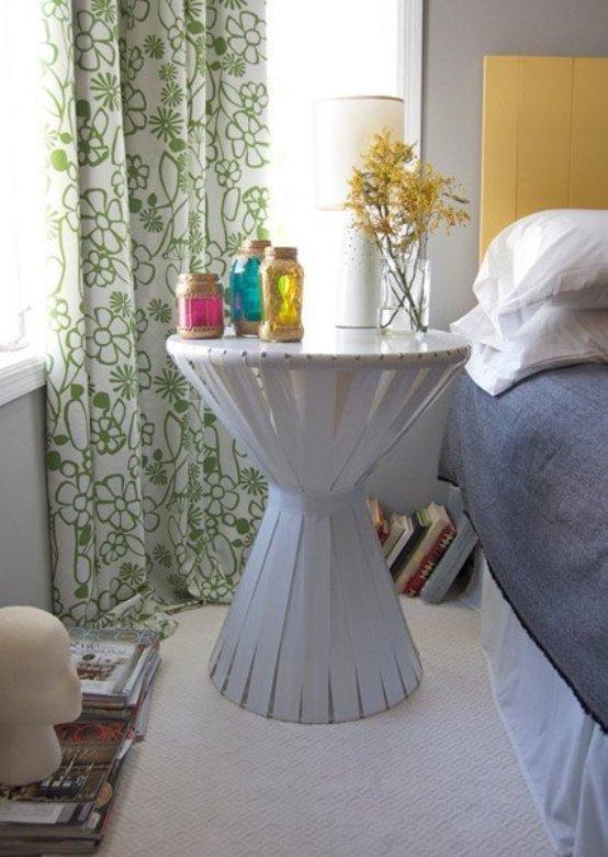 Мебель и предметы интерьера в цветах: серый, белый. Мебель и предметы интерьера в стиле этника.