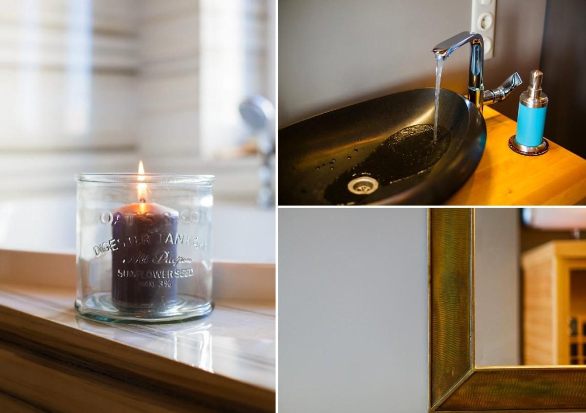 Мебель и предметы интерьера в цветах: черный, серый, светло-серый, темно-зеленый. Мебель и предметы интерьера в стиле экологический стиль.