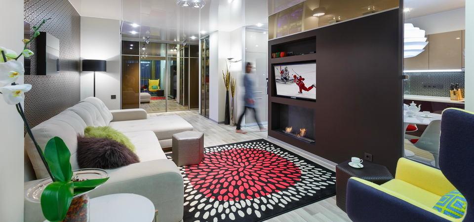Квартира бизнесмена в Питере: 98 метров минимализма