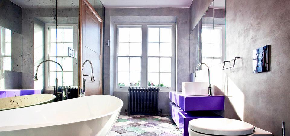 11 необычных ванных комнат