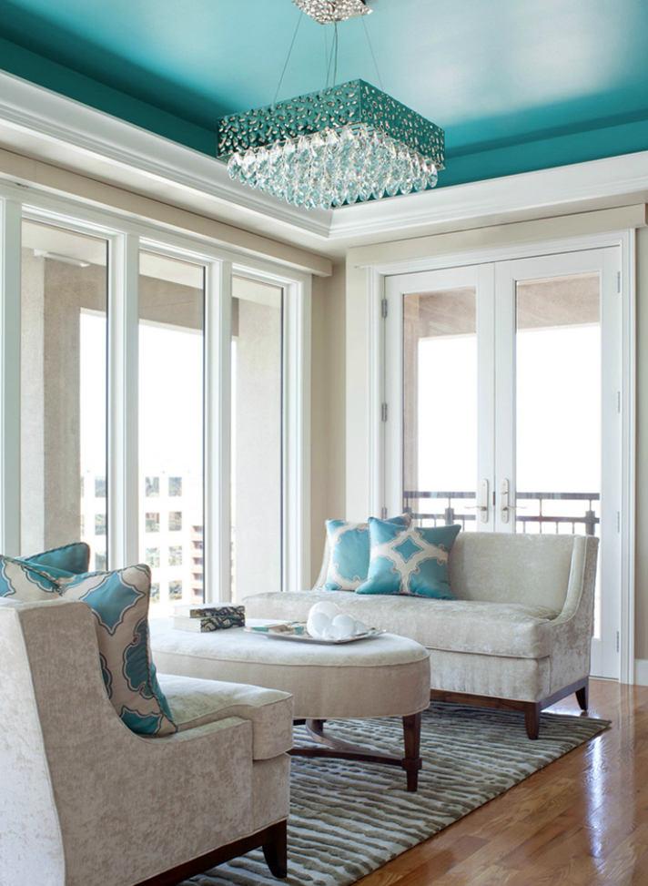 Гостиная, холл в цветах: бирюзовый, серый, белый, сине-зеленый. Гостиная, холл в стиле английские стили.