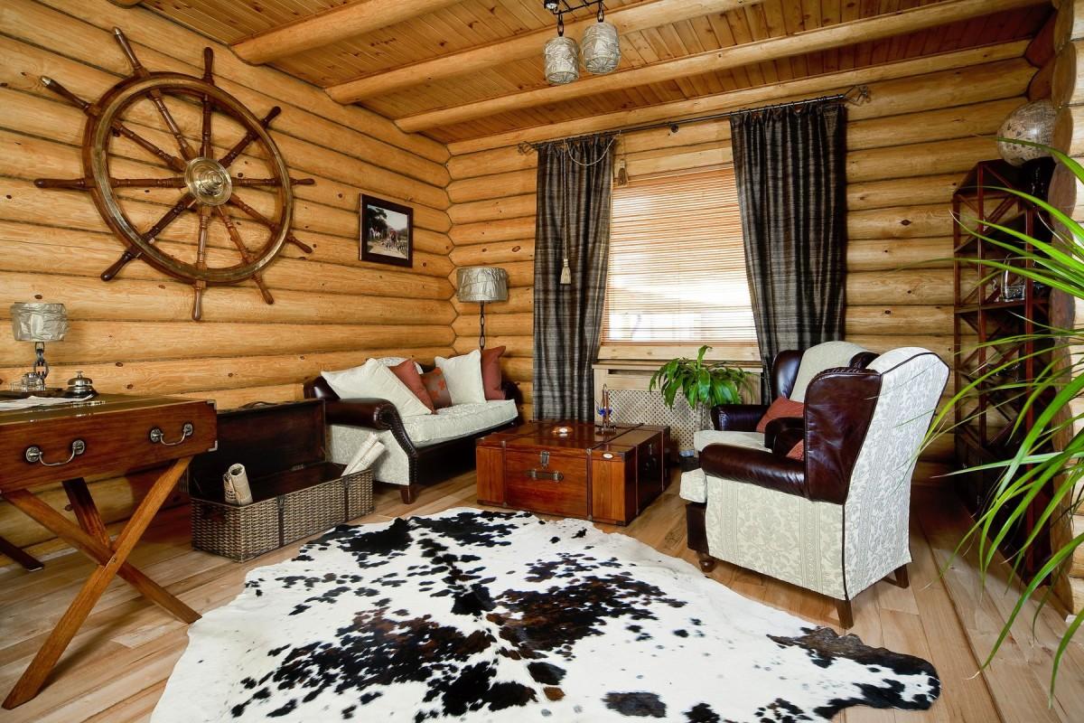 Гостиная, холл в цветах: белый, темно-коричневый, коричневый, бежевый. Гостиная, холл в стиле эклектика.