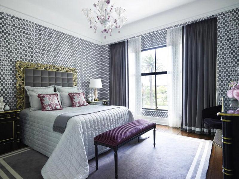 Мебель и предметы интерьера в цветах: черный, серый, светло-серый, белый. Мебель и предметы интерьера в стиле неоклассика.