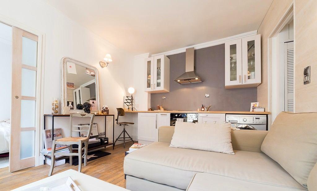 Купить квартиру студию в париже