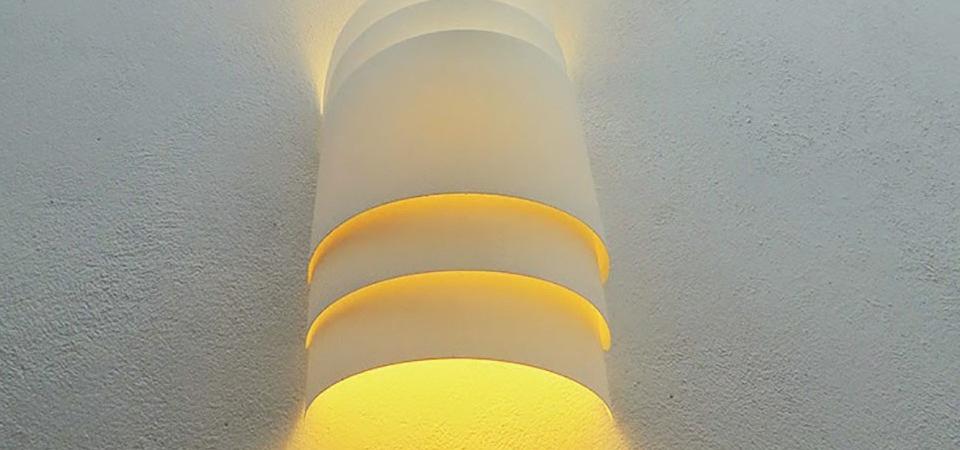 Все гениальное – просто! Эффектный настенный светильник за 5 минут: мастер-класс