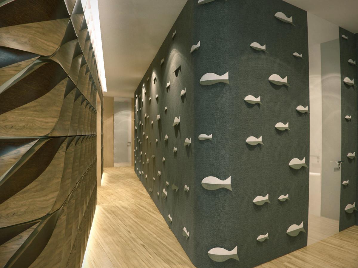Гостиная, холл в цветах: серый, темно-коричневый, коричневый, бежевый. Гостиная, холл в стилях: арт-деко.