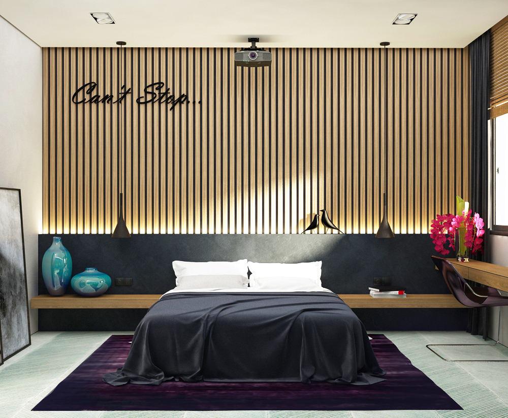 Мебель и предметы интерьера в цветах: черный, светло-серый, белый, коричневый, бежевый. Мебель и предметы интерьера в стилях: минимализм, экологический стиль.