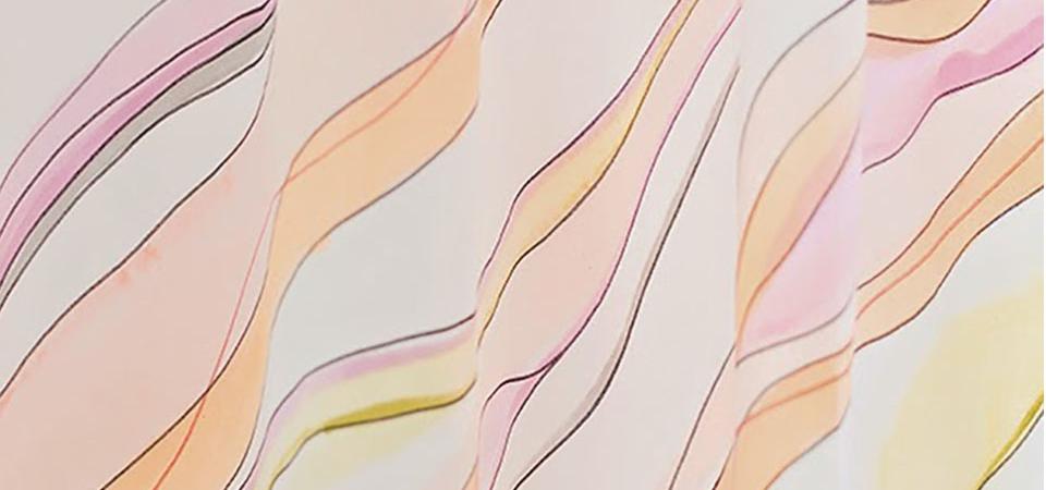 Раскрась свой мир: акварельный рисунок на занавесках своими руками