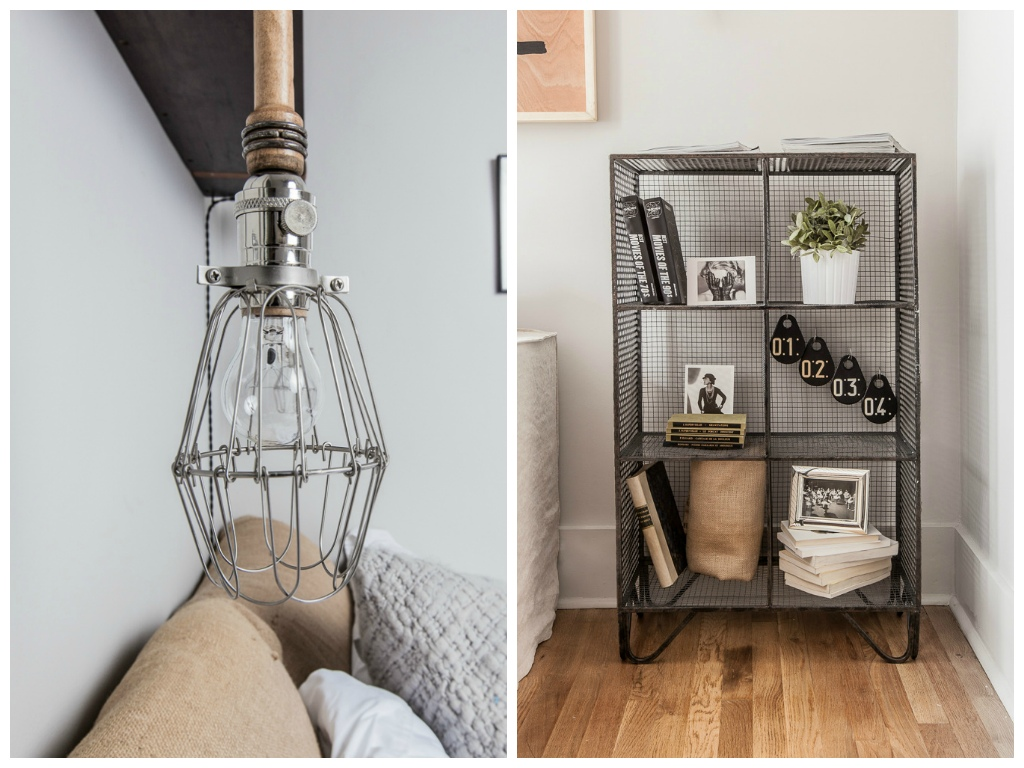 Декор в цветах: серый, светло-серый, коричневый, бежевый. Декор в стилях: лофт, эклектика.
