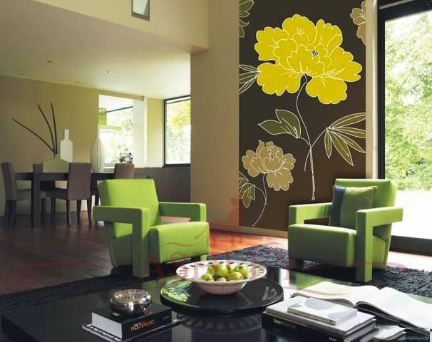 Гостиная, холл в цветах: серый, светло-серый, белый, темно-зеленый, бежевый. Гостиная, холл в стилях: американский стиль.