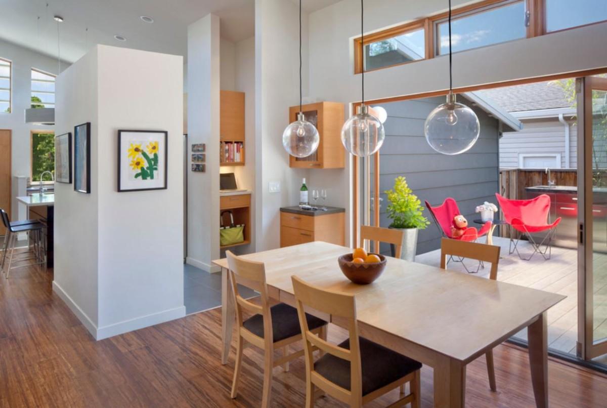 Кухня в цветах: белый, коричневый, бежевый. Кухня в стилях: минимализм.