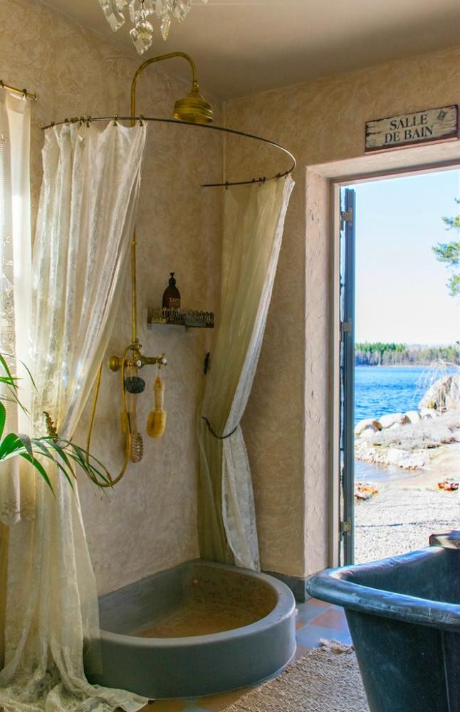 Мебель и предметы интерьера в цветах: голубой, бирюзовый, серый, светло-серый, темно-зеленый. Мебель и предметы интерьера в стилях: прованс.