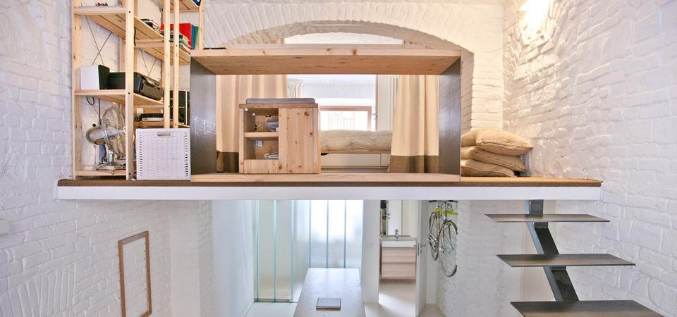 Магазин, который стал квартирой: лофт с прекрасными идеями