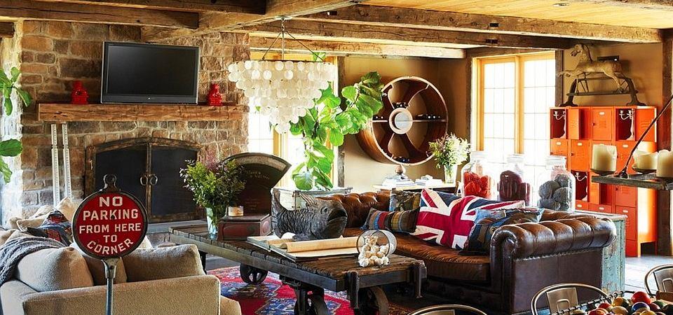 Большой дом: как оформить жилище, когда нет необходимости экономить пространство