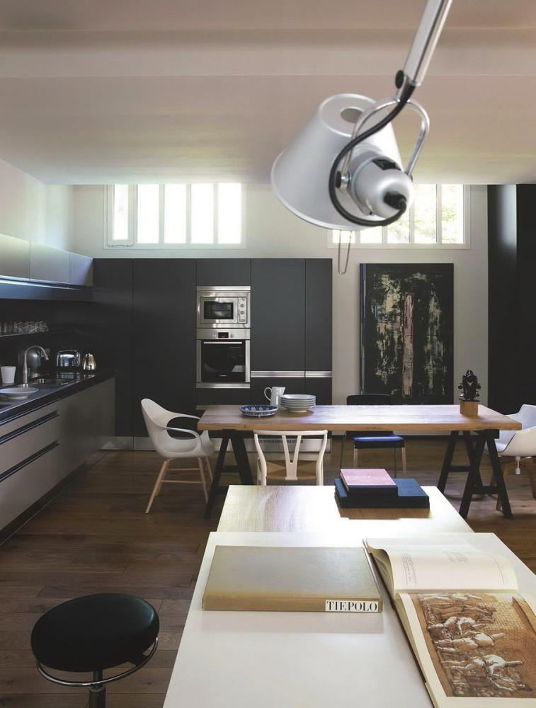 Гостиная, холл в цветах: черный, серый, белый, коричневый. Гостиная, холл в стилях: французские стили, лофт.
