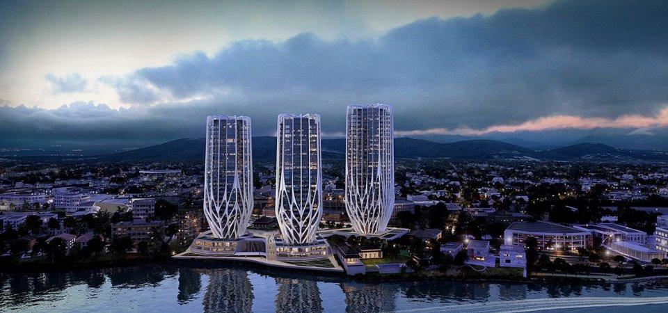 «Цветы» от Захи Хадид: новый необычный комплекс в Брисбене